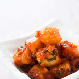 Cubed Radish Kimchi (Kkakdugi)