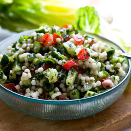 Cucumber and Israeli Couscous Salad