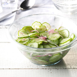 Cucumber and Red Onion Salad Recipe