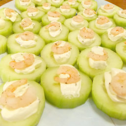 Cucumber and Shrimp Appetizer Recipe