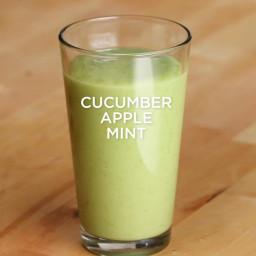 Cucumber Apple Mint Smoothie