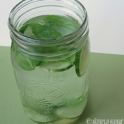 Cucumber Basil Herbal Water