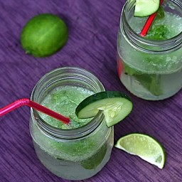 Cucumber-Basil Spritzers