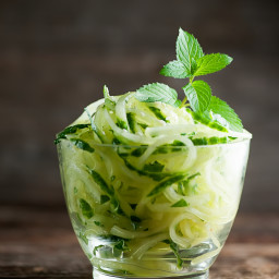 Cucumber Mint Noodles
