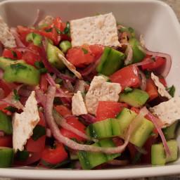 Cucumber Salad with Za'atar
