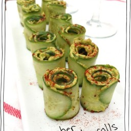 Cucumber Avocado Rolls