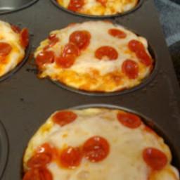 Cupcake Mold Pizzas