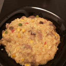 Curcan cu orez și leguma
