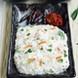 Curd rice / Thayir sadam recipe