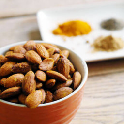 Curried Almonds