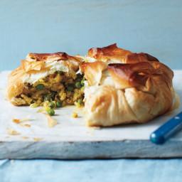Curried Chicken-and-Potato Pie