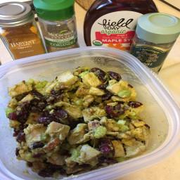 """Curried"" Turkey-Avocado Salad (AIP)"
