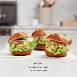 Curried Chickpea Salad Sliders