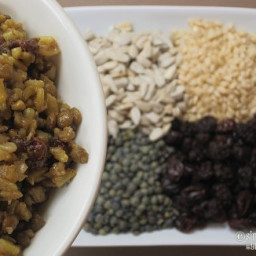 Curried Rice and Lentils