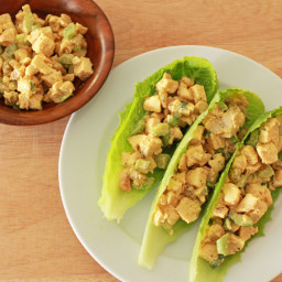 Curry Chicken Salad Boats