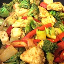 Curry Chicken Stir-Fry