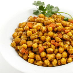 Jamaican Curry Chickpeas