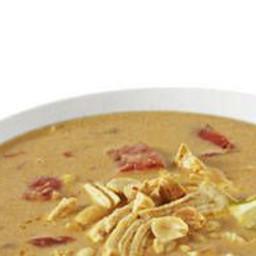 Curry Coconut Peanut Soup