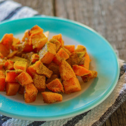 Curry-Roasted Butternut Squash