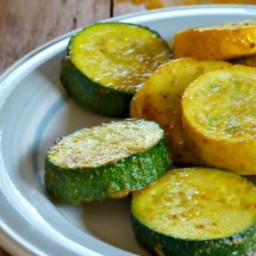 Curry-Roasted Summer Squash