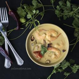 Curry thai de langostinos {paleo, whole30}