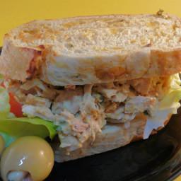 Curry Tuna Fish Sandwiches