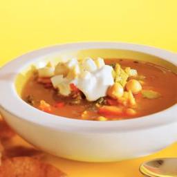 Curry maaltijdsoep