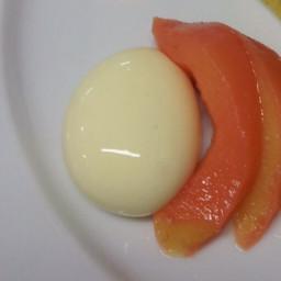 Custard sphere