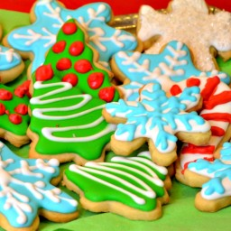 Cut Out Butter Cookie-Christmas