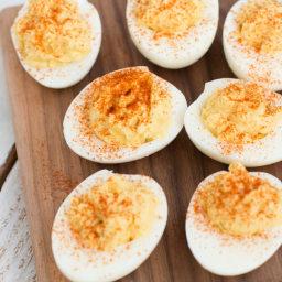 Da Bomb Deviled Eggs