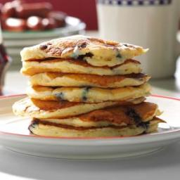 Dad's Blueberry Buttermilk Pancakes Recipe