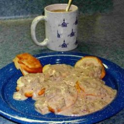 Dad's Low(er) Fat Sausage Gravy