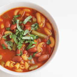 Dairy and Gluten Free Minestrone Soup
