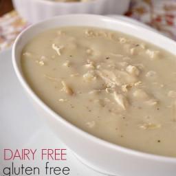 Dairy Free Gluten Free Cream of Chicken Soup