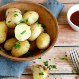 Dalmatian Boiled Potatoes
