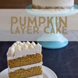 Dan's Pumpkin Layer Cake
