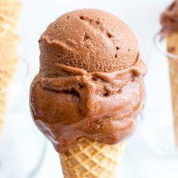 Dark Chocolate Nice Cream (Vegan, Gluten Free, Dairy Free)