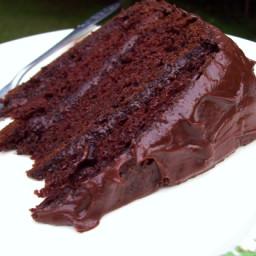 Darn Good Chocolate Cake ( Cake Mix Cake)