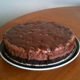 Darrell's Low Fat Chocolate Cheesecake