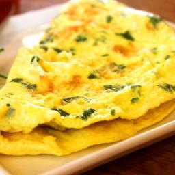 DASH Diet, Breakfast Day 7, Week 1, Egg White Omelet