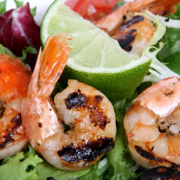 DASH Diet Week 4 Shrimp Kebabs