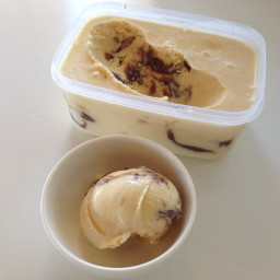 Date Caramel Ice-Cream (the healthy version!)