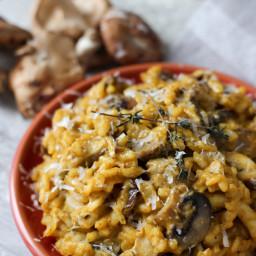 Date Night Wild Mushroom Risotto