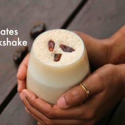 dates milkshake recipe | date shake recipe | khajoor shake | khajoor milk