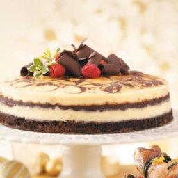 Decadent Brownie Swirl Cheesecake Recipe