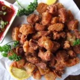 Deep Fried Beef Tendon