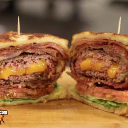 Deep Fried Burger