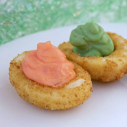 Deep Fried Deviled Eggs