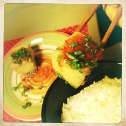 Deep Fried Tofu With Sweet Chili Sauce
