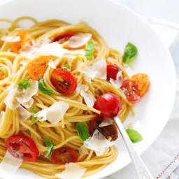 DeLallo Made Easy Recipes: Easy Roasted Tomato and Basil Pasta
